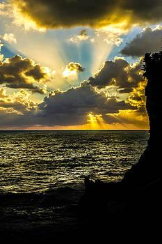 Corniglia Sunset - 2 by Jed Smith