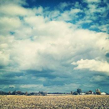 Corn's In... #hoosierskies by Sandy MacGowan