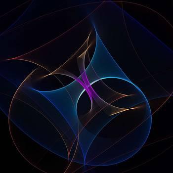 Cornucopia of Blue and Orange by Marisa Horn
