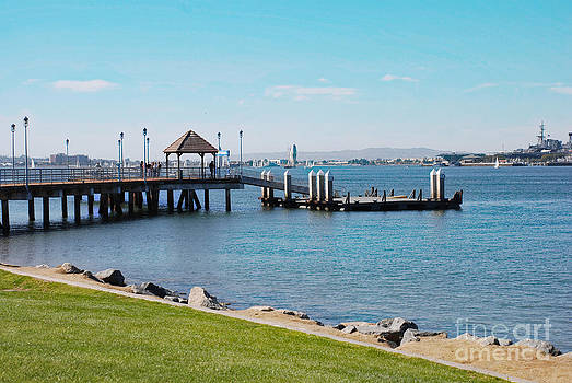 Coronado Pier by Claudia Ellis