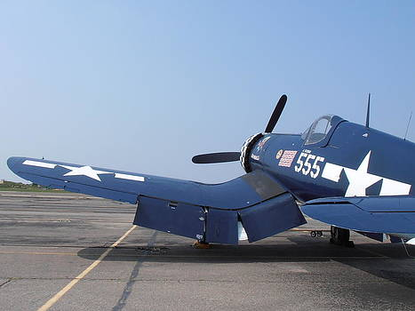 Kimberly Perry - Corsair F4U Wings