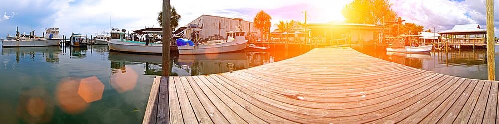 Cortez Fishing Village by Rolf Bertram