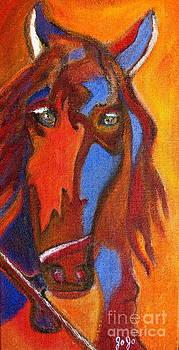 Cortez The Picasso Horse by Jodie  Scheller