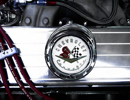 Christy Usilton - Corvette Emblem Under the Hood