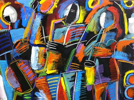 Cosmic Birth of Jazz by Gerry High