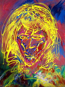 Cosmic Blonde by Darryl  Kravitz