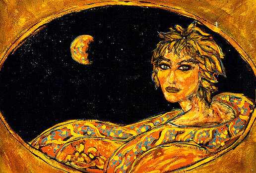 Cosmic Child by Shakti Brien