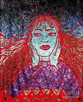 Cosmic Contemplation by Bonnie Cushman