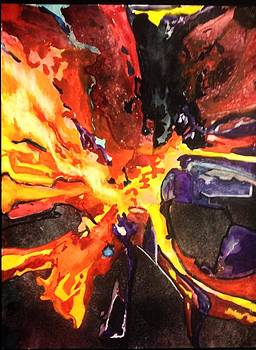 Cosmic Explosion by Barbara  Rhodes