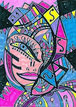 Cosmic Goddess by Michelle Villarreal