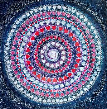 Cosmic Heart by Agnieszka Szalabska