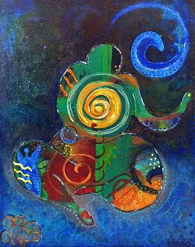 Cosmic Presence by Indigo Carlton