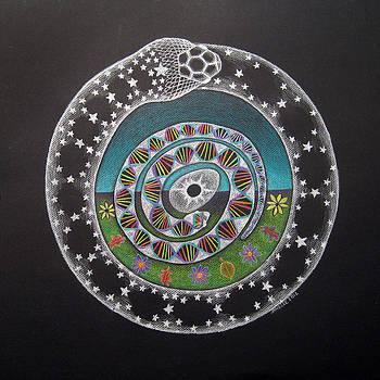 Cosmic Serpent color by Janelle Schneider