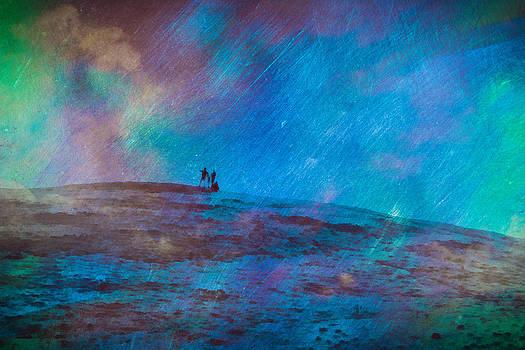 Priya Ghose - Cosmic Sky Gazing Art