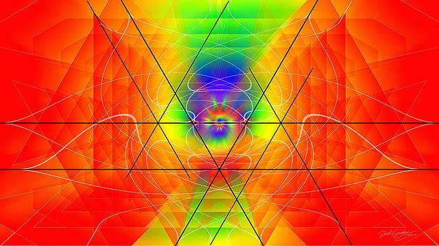 Cosmic Spiral Ascension 01 by Derek Gedney