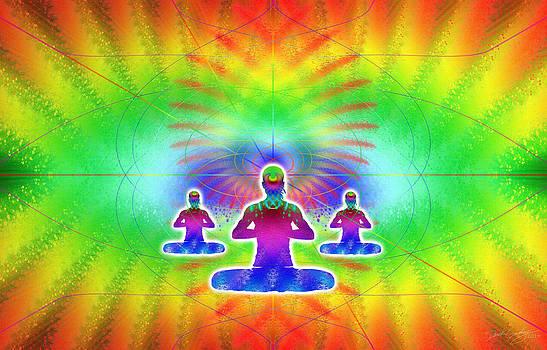 Cosmic Spiral Ascension 05 by Derek Gedney