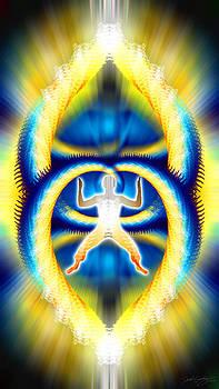 Cosmic Spiral Ascension 08 by Derek Gedney