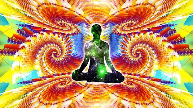 Cosmic Spiral Ascension 10 by Derek Gedney