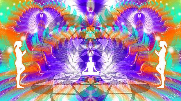 Cosmic Spiral Ascension 61 by Derek Gedney