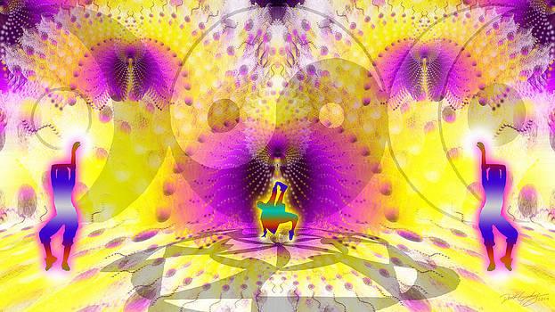 Cosmic Spiral Ascension 62 by Derek Gedney