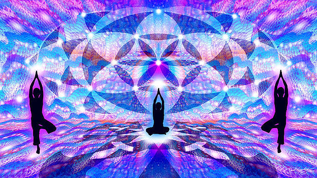 Cosmic Spiral Ascension 63 by Derek Gedney