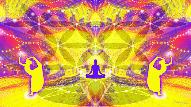 Cosmic Spiral Ascension 64 by Derek Gedney
