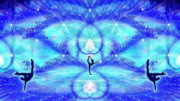 Cosmic Spiral Ascension 65 by Derek Gedney