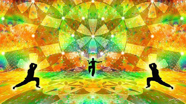 Cosmic Spiral Ascension 66 by Derek Gedney