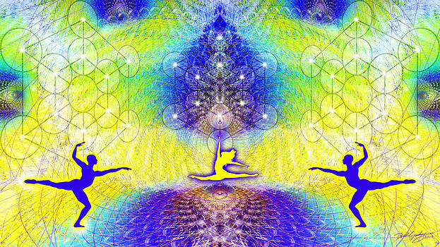 Cosmic Spiral Ascension 67 by Derek Gedney