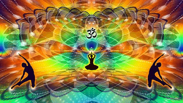 Cosmic Spiral Ascension 68 by Derek Gedney