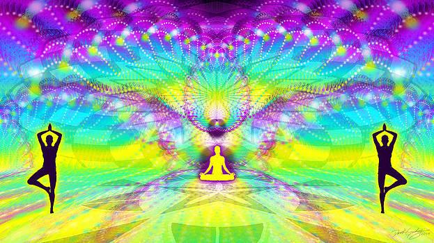 Cosmic Spiral Ascension 69 by Derek Gedney