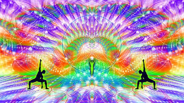 Cosmic Spiral Ascension 70 by Derek Gedney