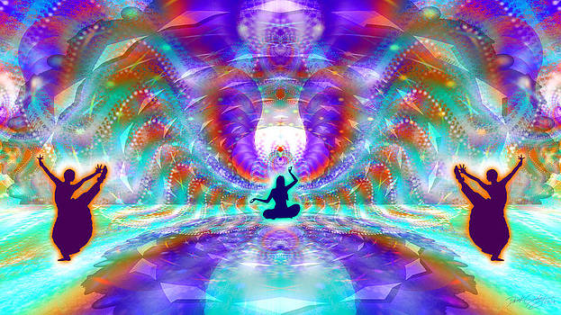 Cosmic Spiral Ascension 71 by Derek Gedney