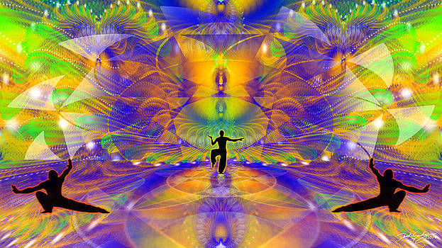 Cosmic Spiral Ascension 73 by Derek Gedney