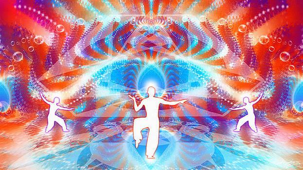Cosmic Spiral Ascension 75 by Derek Gedney