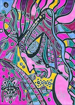 Cosmic Warrior by Michelle Villarreal