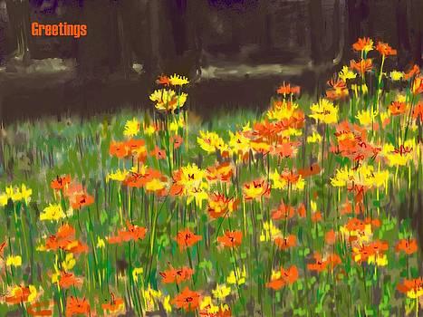 Usha Shantharam - Cosmos Greetings