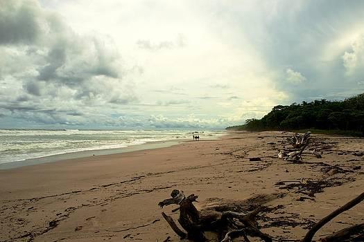 Costa Rica Beach by Gary Campbell