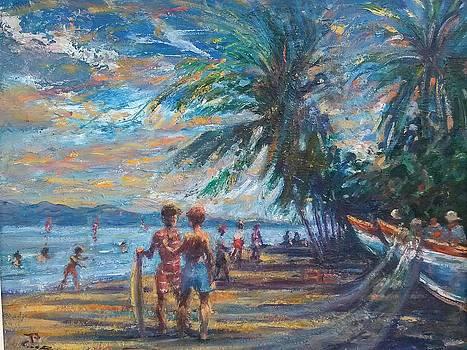 Costa Rica Beach by Philip Corley