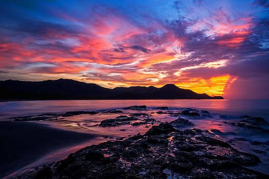 Costa Rica Sunset by Nick  Shirghio