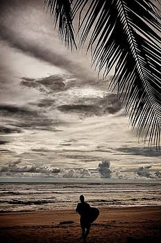 Costa Rica Surfer by Gary Campbell