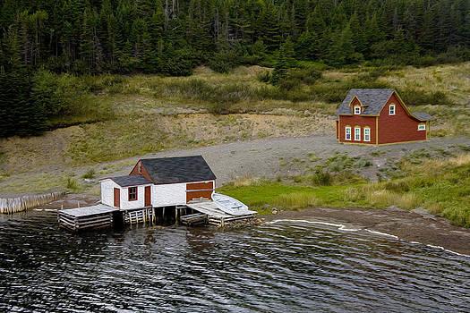 Edser Thomas - Cottage Fisherman - Digital Oil