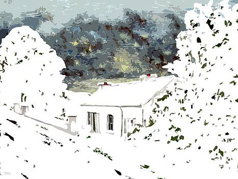 Cottage In The Snow by Patrick J Murphy