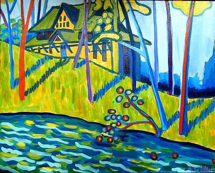 Cottage on Massapoag by Debra Bretton Robinson
