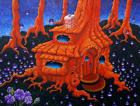 Cottage Tree House by Nhoj  Yesdnil