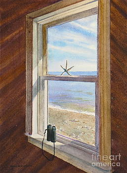 Cottage Window by Karol Wyckoff