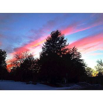 Cotton Candy Skies. Probably A Result by Maddie Yardley