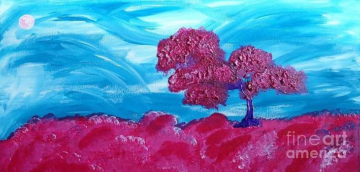 Cotton Candy Tree by Caroline Reyes