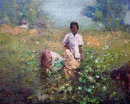 Cotton Sack by Benjamin Johnson