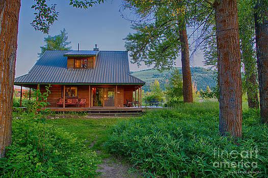 Omaste Witkowski - Cottonwood Cottage At Sunset